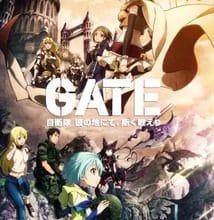 تحميل جميع حلقات انمي Gate: Jieitai Kanochi nite, Kaku Tatakaeri